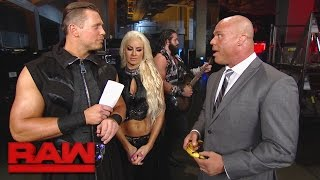 """The Drifter"" momentarily interrupts a conversation between Raw GM Kurt Angle and The Miz.#RAWMore ACTION on WWE NETWORK : http://wwenetwork.comSubscribe to WWE on YouTube: http://bit.ly/1i64OdTMust-See WWE videos on YouTube: https://goo.gl/QmhBofVisit WWE.com: http://goo.gl/akf0J4"