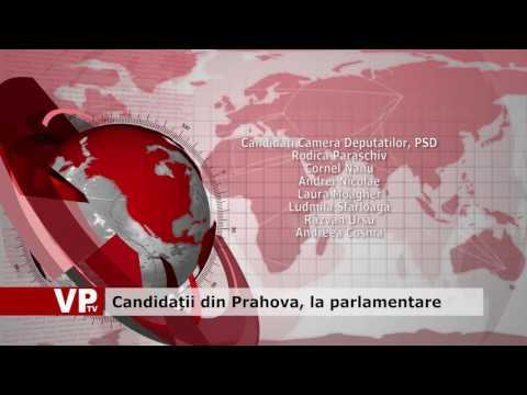 Candidații din Prahova, la parlamentare