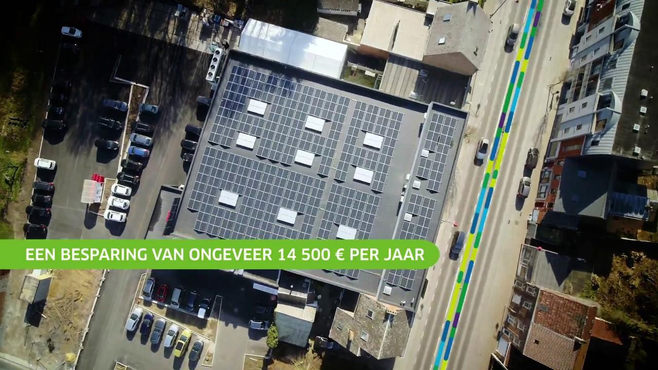 AD Delhaize Jurbise - Zonnepanelen ENGIE