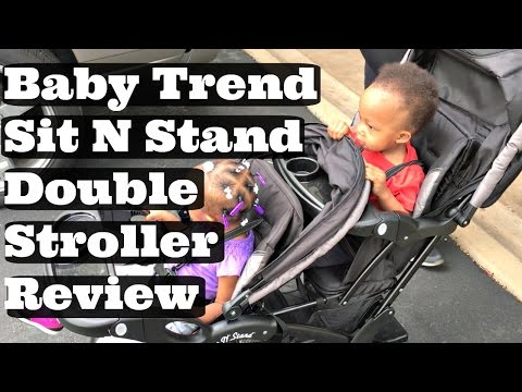 Baby Trend Sit and Stand Double Stroller Review