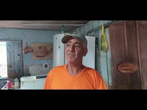 Seu Lima é outro morador que perdeu tudo após as chuvas