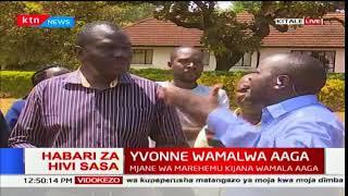 Nyumbani kwake mwenda zake Yvonne Wamalwa-Kitale