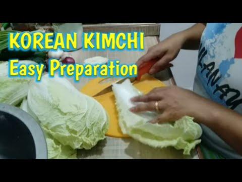 KOREAN KIMCHI…Easy Preparation