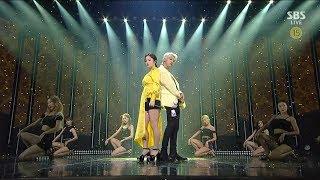 LEE HI - '누구 없소 (NO ONE) (Feat. B.I of iKON)' 0609 SBS Inkigayo
