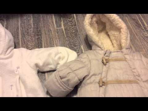 Конверт или комбинезон для осенних/зимних малышей