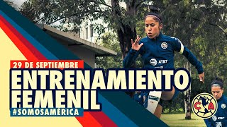 Entrenamiento Primera Sesión - Club América Femenil