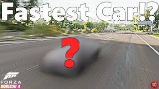 Forza Horizon 4: FASTEST CAR!?