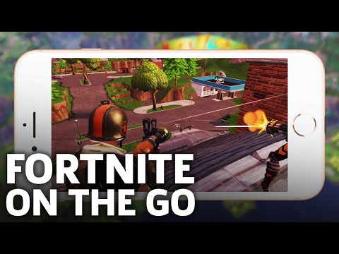 Fortnite Battle Royale – Full Mobile Match iOS Gameplay
