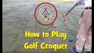 Introduction to Golf Croquet