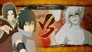Naruto Shippuden Ultimate Ninja Storm 3: Naruto vs Sasuke Full Boss Battle Gameplay