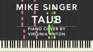 Mike Singer Taub Piano Cover Tutorial Synthesia