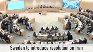 Hypocrisy: Sweden now introducing U.N. resolution on Iran's human rights record