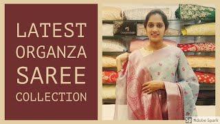 Latest Organza Saree Collection STARTING RS.1350/-  🔥🔥#gayathrireddy #organzasarees#designersarees