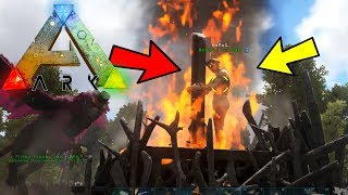 NEW PVP WITCHES STAKE BURNING! EPIC UPDATES (5) - ARK: Survival Pooping Evolved