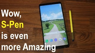 Samsung Galaxy Note 9 - Amazing New S-Pen Features You Need To Know