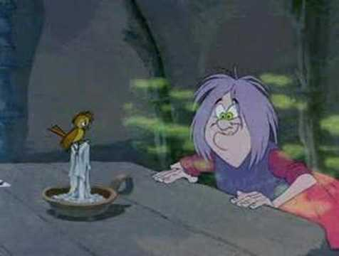 The Sword In The Stone - Mad Madam Mim