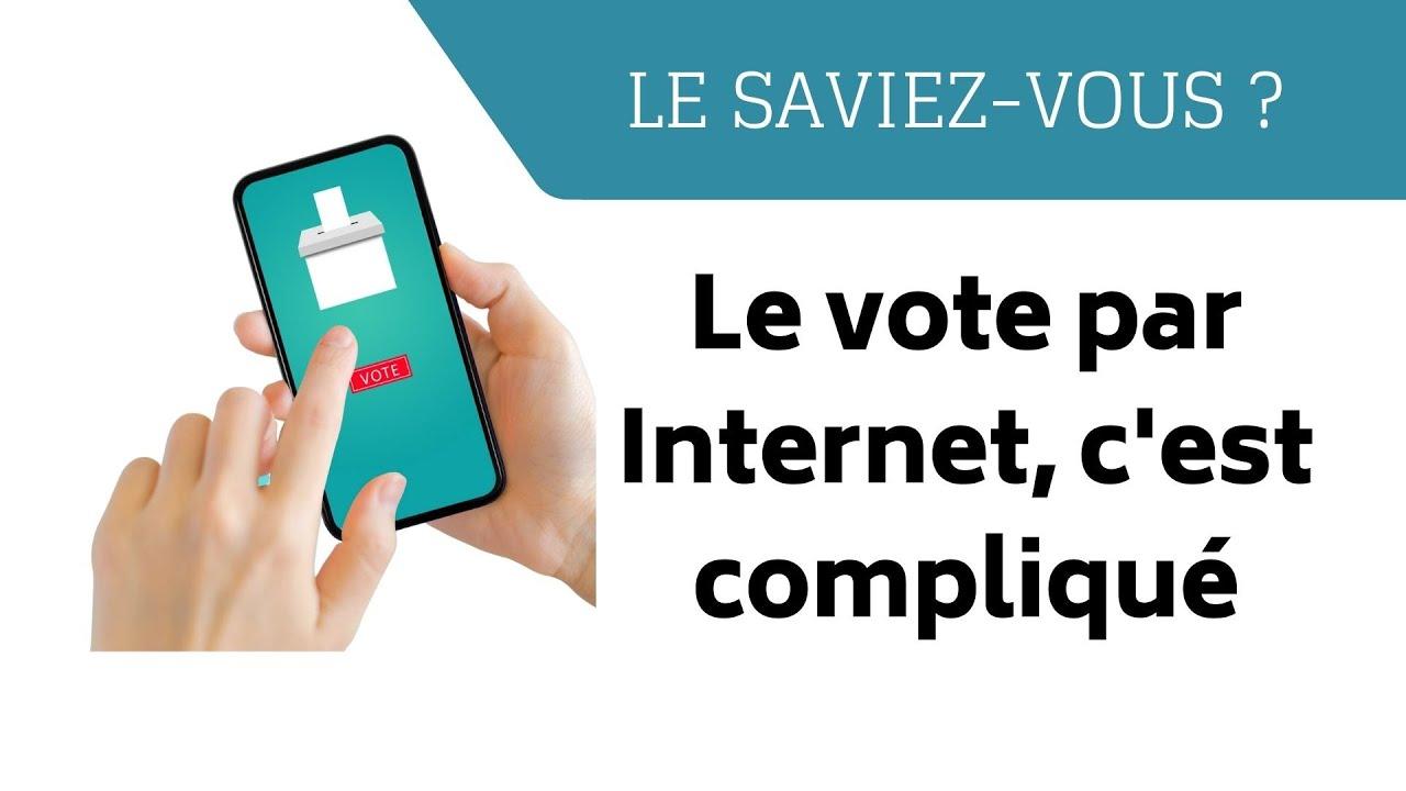 Le vote par Internet c'est compliqué (Le saviez-vous ?)