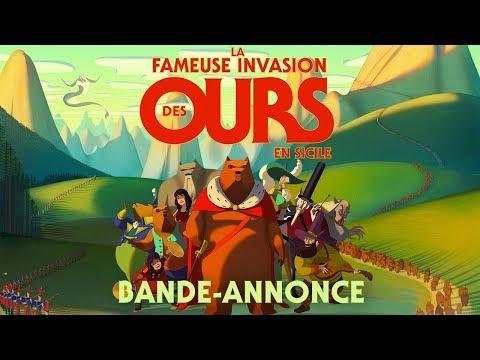 La fameuse invasion des Ours en Sicile – Bande-annonce officielle HD