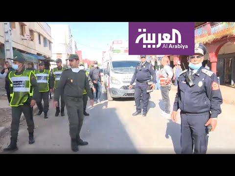 العرب اليوم - شاهد: لقطات من أكبر حي شعبي مغربي ترصد الحظر الصحي الجماعي