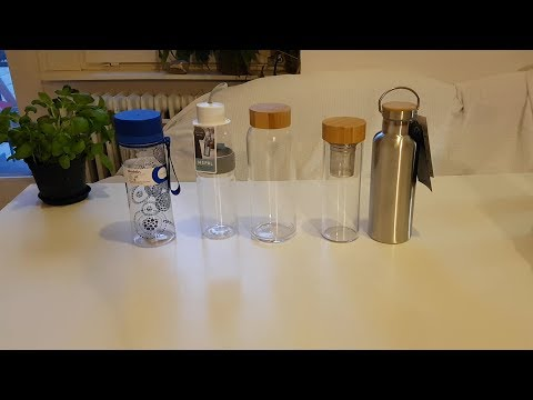 BPA-freie Trinkflaschen Vergleich und Test