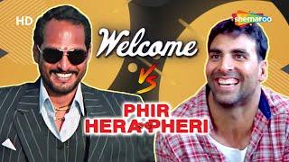 Phir Hera Pheri V/S Welcome | Best Of Comedy Scenes | Paresh Rawal - Nana Patekar - Akshay Kumar