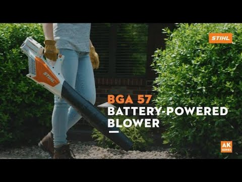 Stihl BGA 57 without Battery in Philipsburg, Montana - Video 1