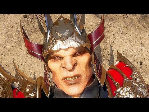 Mortal Kombat 11 Shao Kahn Vs. Kotal Kahn All Fight Cutscenes (MK11)