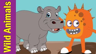 Learn Wild Animals for Kids | Guessing Game for Kids | Fun Kids English