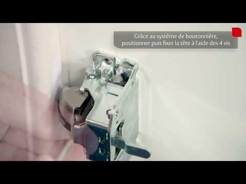Tutoriel d'installation de la barre anti-panique Fluid - Gâche et Boitier principal