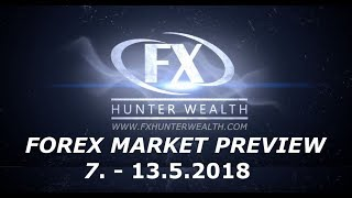 Forex Market Preview 7. - 13.5.2018