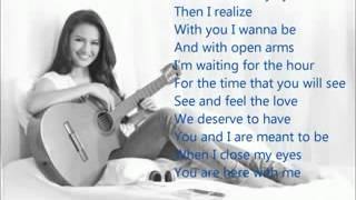 When I close my eyes   Julie Anne San Jose lyrics
