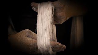 How to make HANDPULLED DRAGON'S BEARD CANDY  วิธีทำสายไหมหนวดมังกร   OOH Kitchen