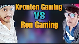 kronten Gaming VS Ron Gaming | Who is the best PUBG Mobile player?