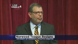 U Of M President Speaks On AD Resignation