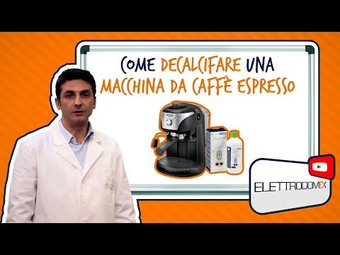 Come Decalcificare una Macchina per il Caffè Espresso