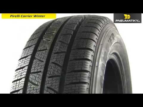 Youtube Pirelli CARRIER WINTER 185/- R14 C 102/100 R Zimní