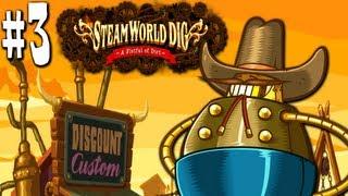 SteamWorld Dig: Dynamite Danger! (Nintendo 3DS Gameplay Walkthrough PART 3)