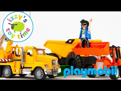Cars for Kids | Playmobil Police Car Toys with Hot Wheels and Fast Lane | Toy Cars Kids Play Time