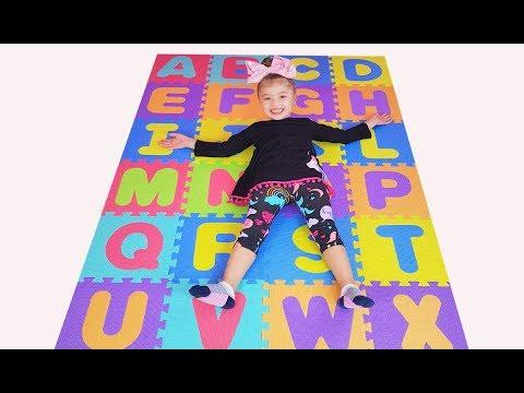 ABC Song Dominika Learning english Alphabet Nursery Rhyme Songs