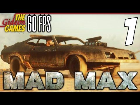 Прохождение Mad Max на Русском (Безумный Макс)[PС|60fps] - #1 (Что за чудный день!!!)
