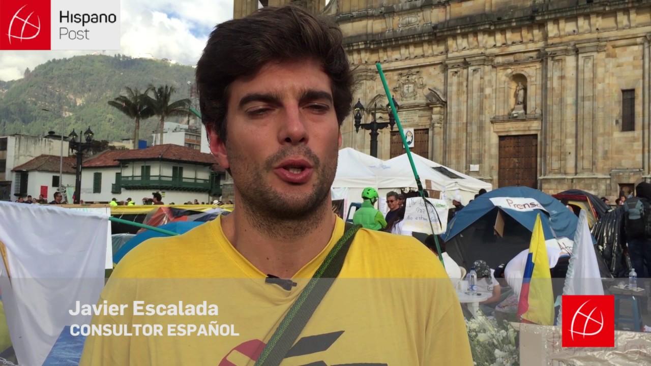 Colombianos se declararon en vigilia indefinida y demandaron cese al fuego