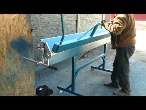 Ручной станок для гибки шириной 2,65м РГ Днепр