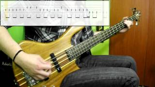 Bon Jovi   Livin' On A Prayer (Bass Cover) (Play Along Tabs In Video)