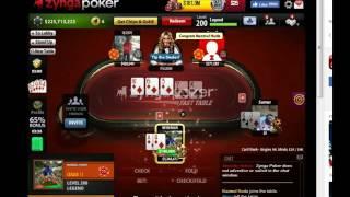 Zynga Poker (Level - 200) 2000 x 40000