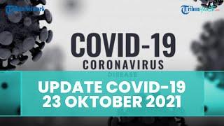 Update Covid-19 Indonesia Sabtu 23 Oktober 2021: Kasus Bertambah 802, Sembuh 1.066, Meninggal 23