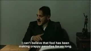 Hitler is informed Hitler Rants Parodies uploaded his first parody on 20th October 2008
