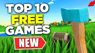 TOP 10 NEW Free PC Games to Play in 2021