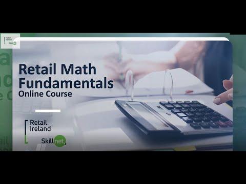 Retail Math Fundamentals Online Course