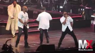 "112 Performs ""Only You"" (Remix) w/ Mase at Bad Boy Family Reunion show in Brooklyn"