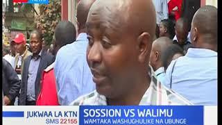 Baadhi ya walimu sasa wanamtaka katibu mkuu wa  KNUT Wilson Sossion kuondoka